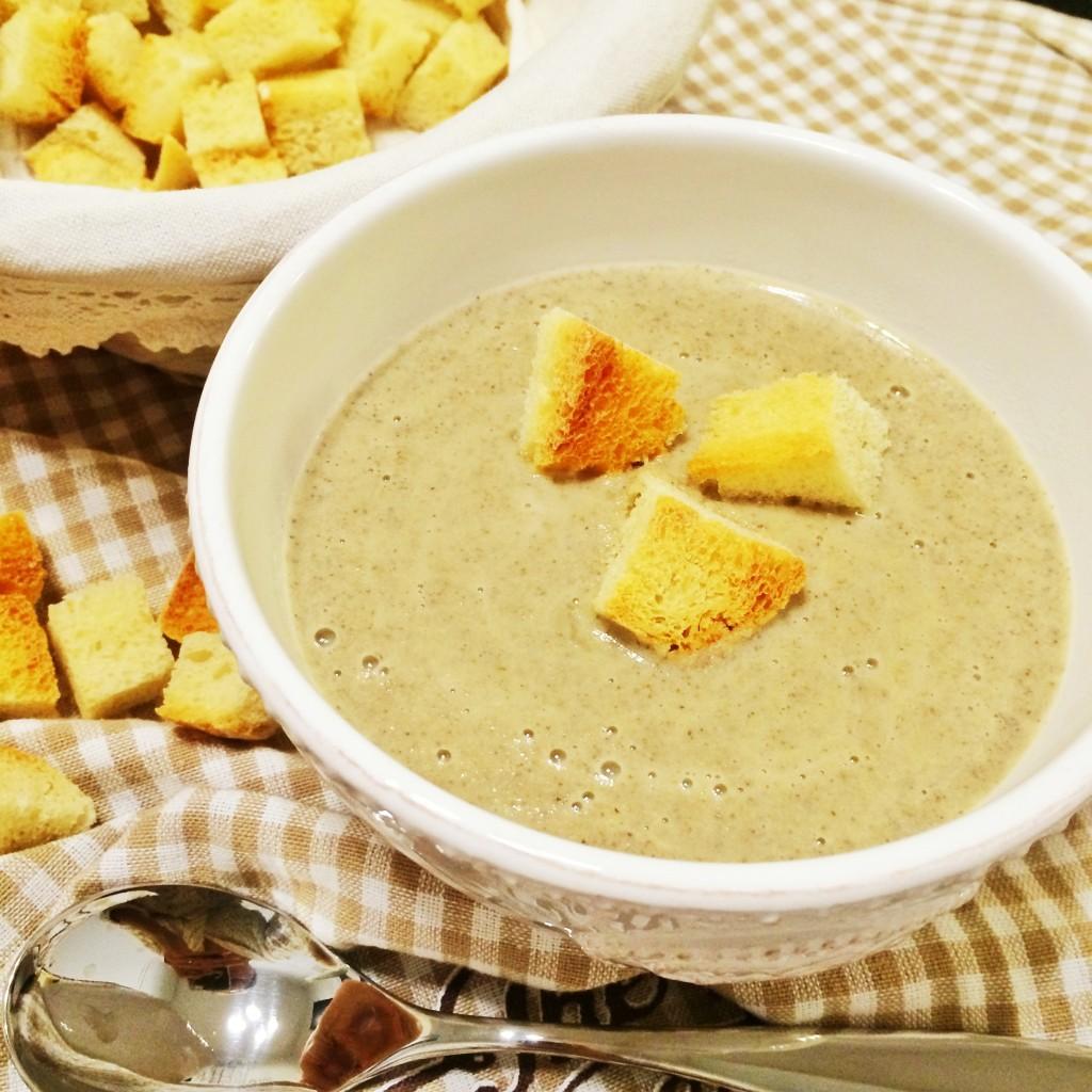 крем суп грибы